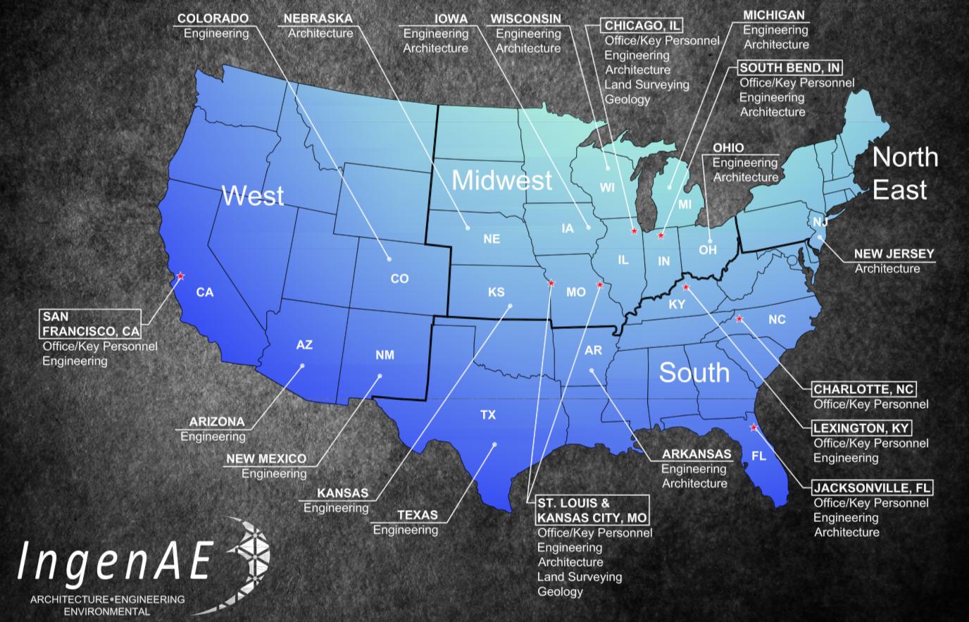 Ingenae Map